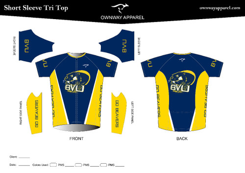 BVU Short Sleeve Tri Top