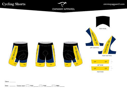 BVU Cycling Shorts
