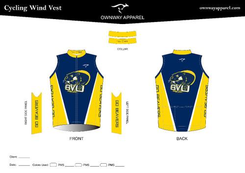 BVU Cycling Wind Vest