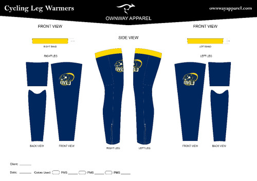 BVU Leg Warmers