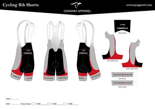 CANNELLA Cycling Bib Shorts