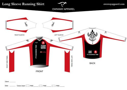 CANNELLA Long Sleeve Running Shirt