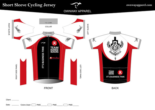 CANNELLA Short Sleeve Cycling Jersey