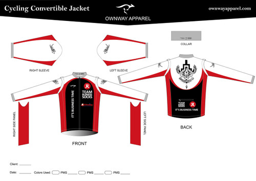 CANNELLA Cycling Convertible Jacket