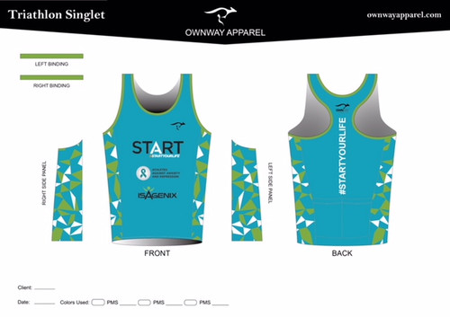 Aubrey PRO LEVEL Triathlon Singlet