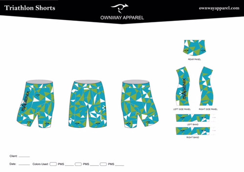 Aubrey PRO LEVEL Triathlon Shorts