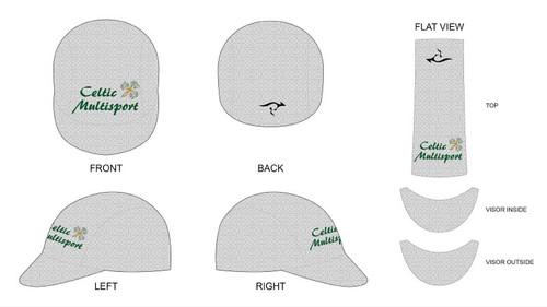 Celtic Cycling Cap