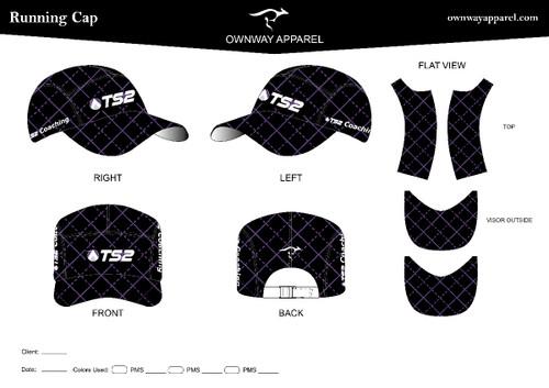 TS2  Running  Cap ( Purple)