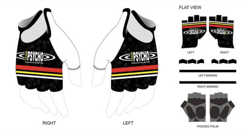 Psycho Spring Cycling Gloves