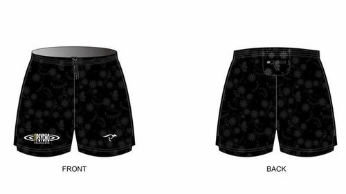 Psycho Runing Shorts With Rear Zip Pocket