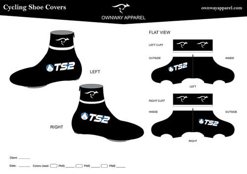 TS2 Winter Cycling Shoe Covers