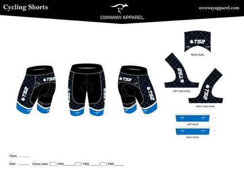TS2 Blue Cycling Shorts