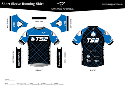 TS2 Blue Running Shirt