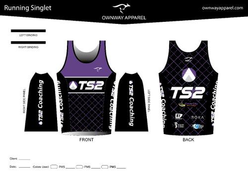 TS2 Purple Running Singlet