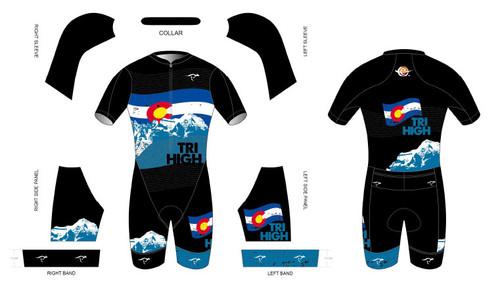 Endurance House Short Sleeve Tri Suit