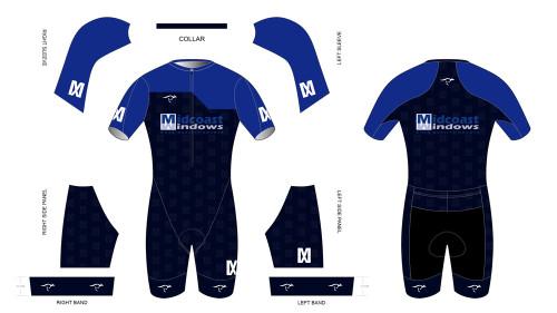 Midcoast Short Sleeve Tri Suit
