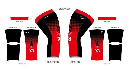 X3 Knee Warmers