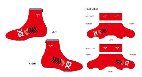 X3 Winter Cycling Shoe Covers