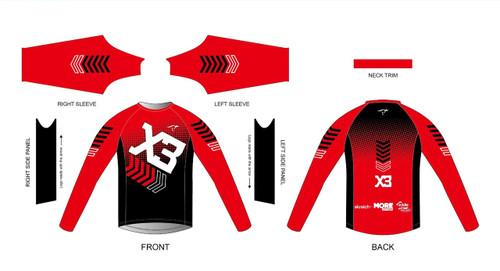 X3 Long Sleeve Running Shirt