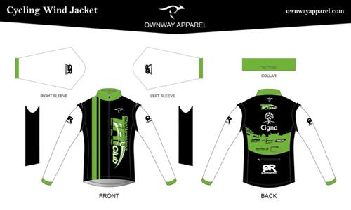 Chattanooga Tri Club Convertible Jacket