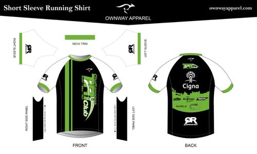 Chattanooga Tri Club Running Shirt