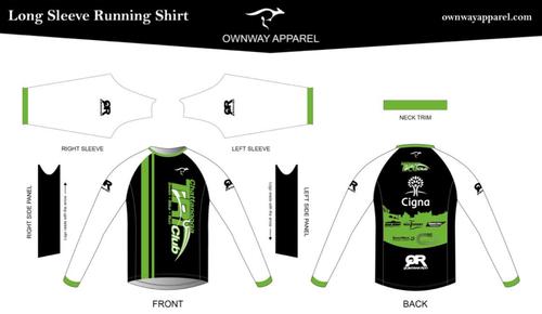 Chattanooga Tri Club Long Sleeve Running Shirt