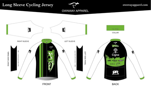 Chattanooga Tri Club Long Sleeve Thermal Jersey