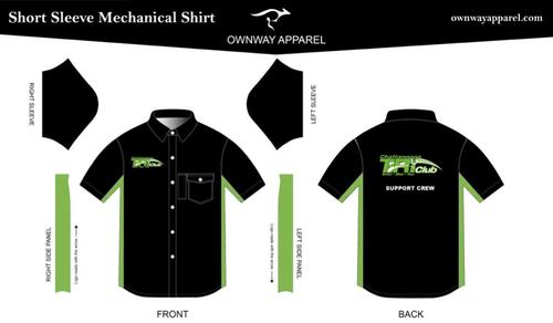 Chattanooga Tri Club Short Sleeve Support Crew Mechanic Shirt
