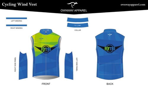 Fly Tri Cycling Wind Vest