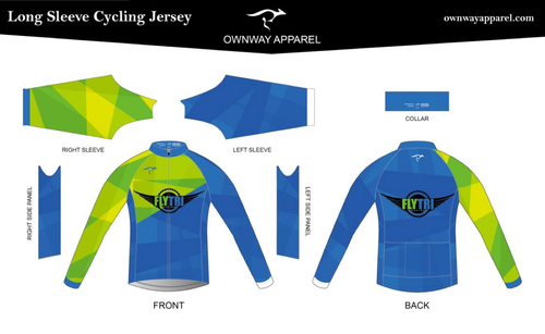 Fly Tri Long Sleeve Thermal Jersey