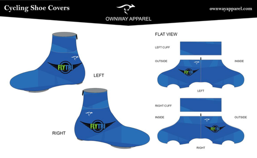 Fly Tri Winter Cycling Shoe Covers