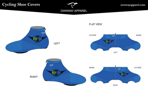 Fly Tri Summer Shoe Covers