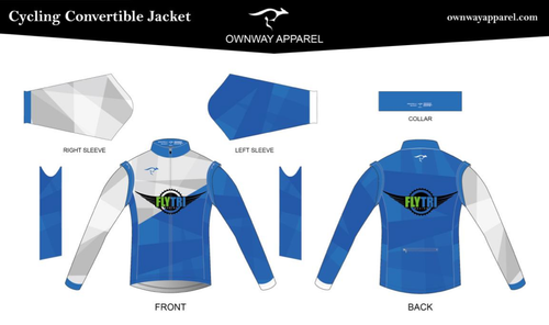 Fly Tri Convertible Wind Jacket (non-Thermal)