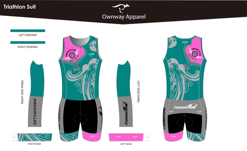 Iron Willed Tri Suit