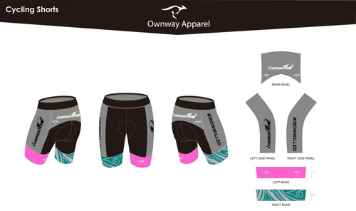 Iron Willed Cycling Shorts