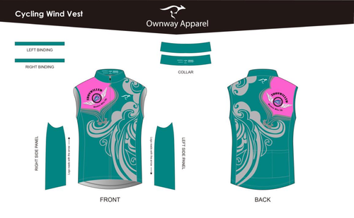 Iron Willed Cycling Wind Vest
