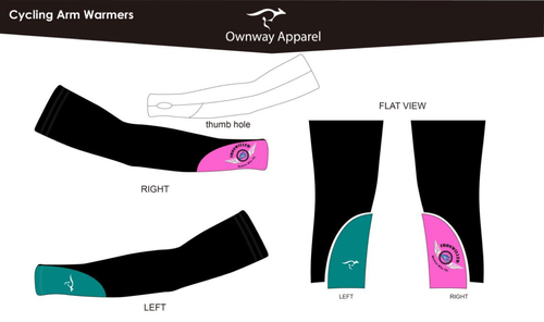 Iron Willed Arm Warmers