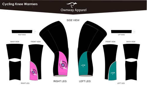 Iron Willed Knee Warmers