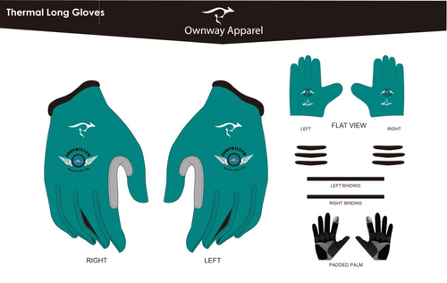 Iron Willed Thermal Gloves