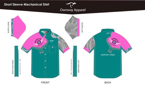 Iron Willed Support Crew Mechanics Shirt