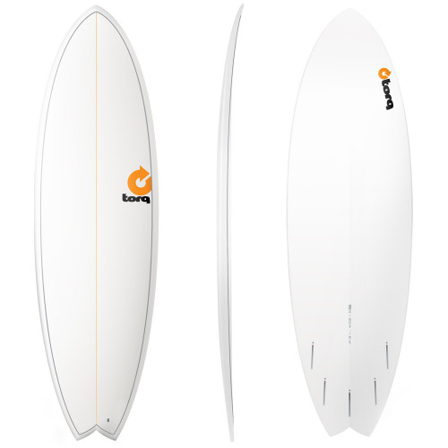 "5'11"" TORQ EPOXY MOD FISH NEW SURFBOARD"