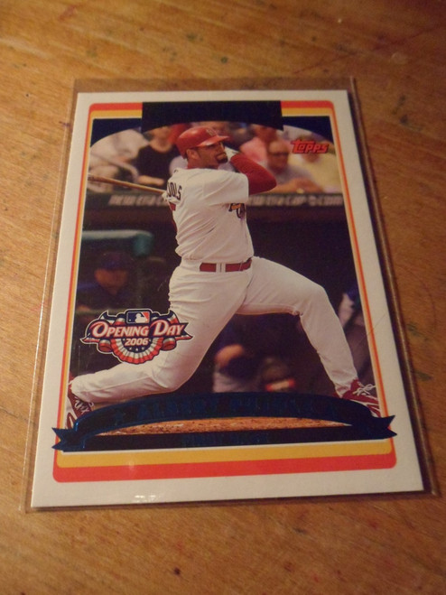 Albert Pujols - 4 card set