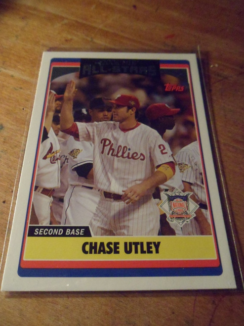 Chase Utley - all star update