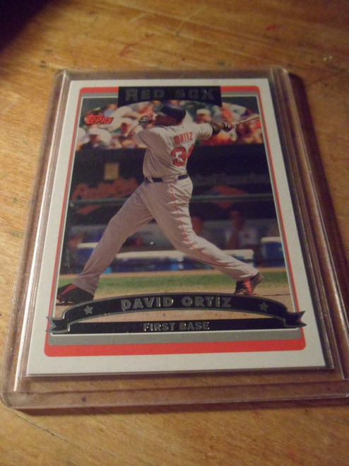 David Ortiz - 5 card set