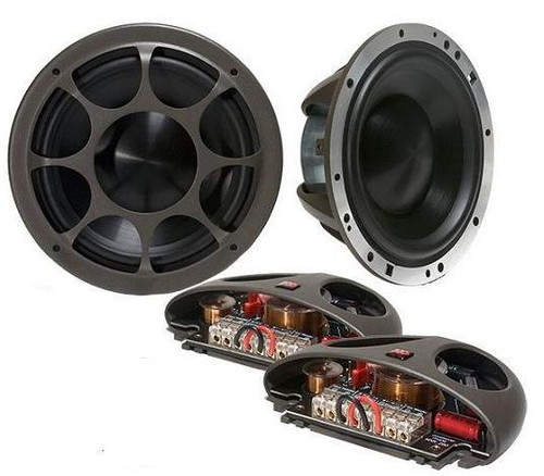 "Morel Elate Titanium 903 8-3/4"" 3-way Car Audio Component Speaker System"
