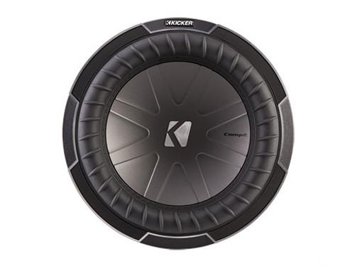 Kicker CompQ 10-Inch Subwoofer- Dual Voice Coil 4 Ohm - 42CWQ104