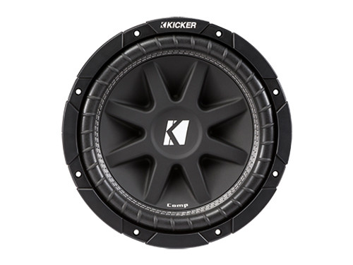 Kicker 10 Inch Comp 4 Ohm SVC Subwoofer - 43c104