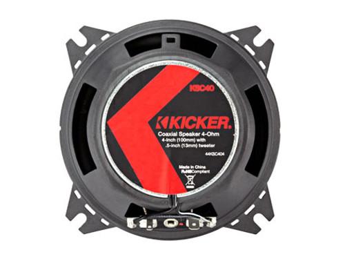 Kicker 4 Inch KS Series Coaxial Audio Speakers - 44KSC404