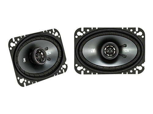 Kicker 4.6 Inch CS Series Coaxial Speakers - 43CSC464