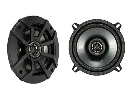 Kicker 5.25 CS Series Coaxial Speakers - 43CSC54